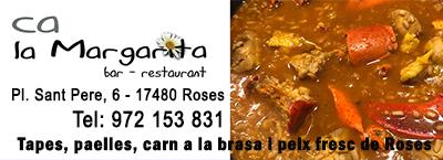 Restaurant Ca la Margarita de Roses