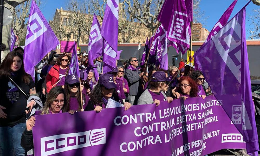 """El 1975 les Nacions Unides varen declarar el dia 8 de març com a """"Dia Internacional de la Dona treballadora"""""""