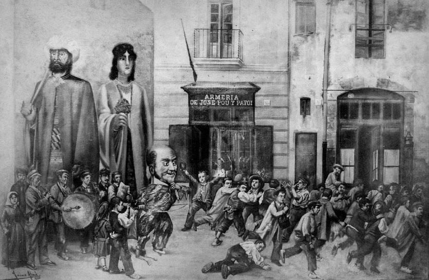 """En """"Berruga"""" és el més antic i popular gegantó figuerenc"""