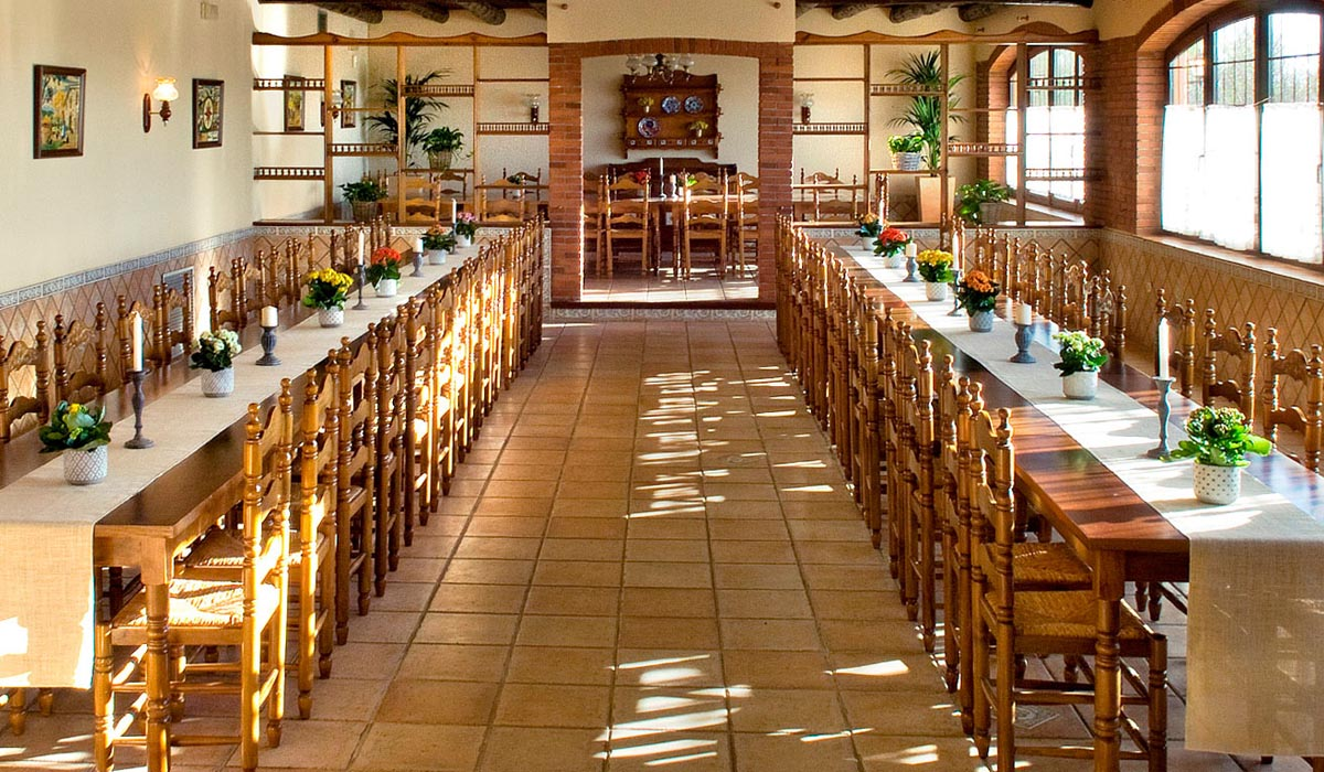 Sala Aiguamolls, d'antic restaurant de pagès a destacada i acollidora sala per a esdeveniments