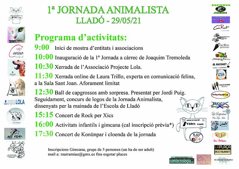 Jornada Animalista Lladó