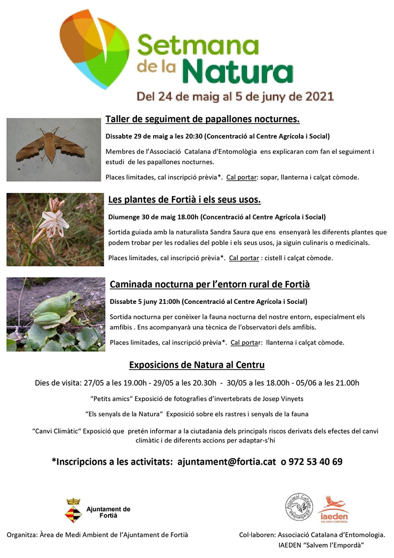 Setmana de la Natura a Fortià