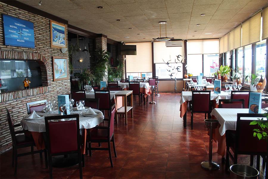 Vent de Llevant, restaurant de referència d'Empuriabrava